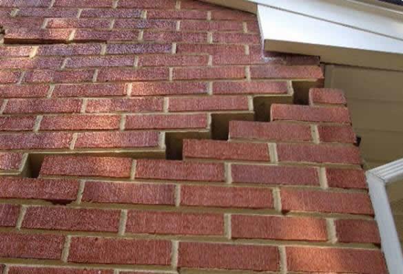 dry basement foundation repair crack in brick foundation